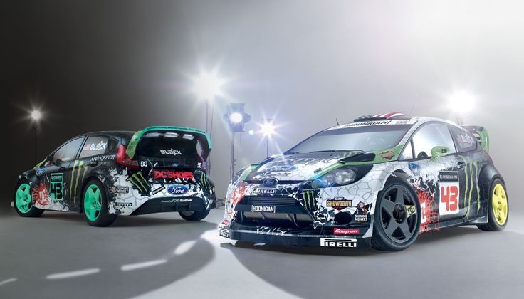 2012 Block Ford Fiesta Rally Car