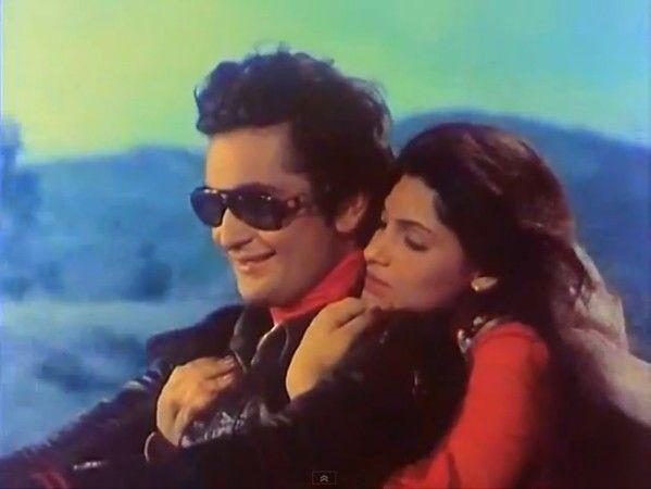 Rishi Kapoor-Dimpal Kapadia