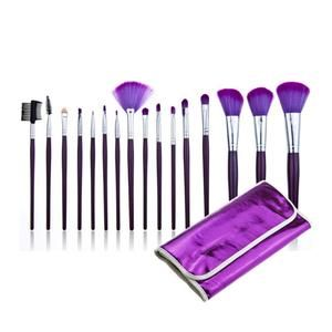 Now Only $14.99 Including Free Worldwide Shipping. Professional 16 PCS Makeup Brush Set Kit + Purple Pouch Bag Cosmetic Brush Kit