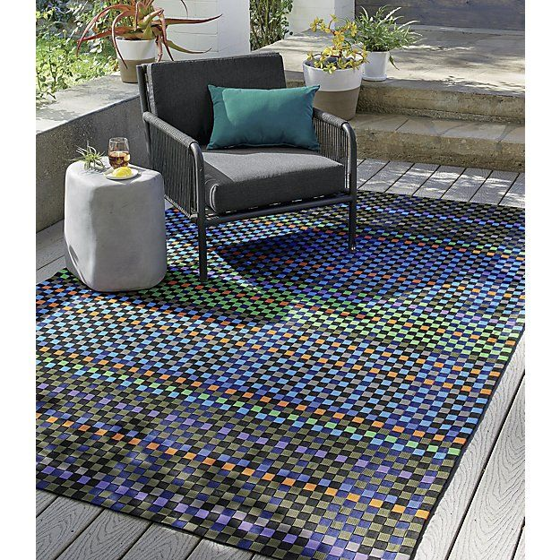 Allta Multi Indoor Outdoor Rug Crate And Barrel Square 400 x 300