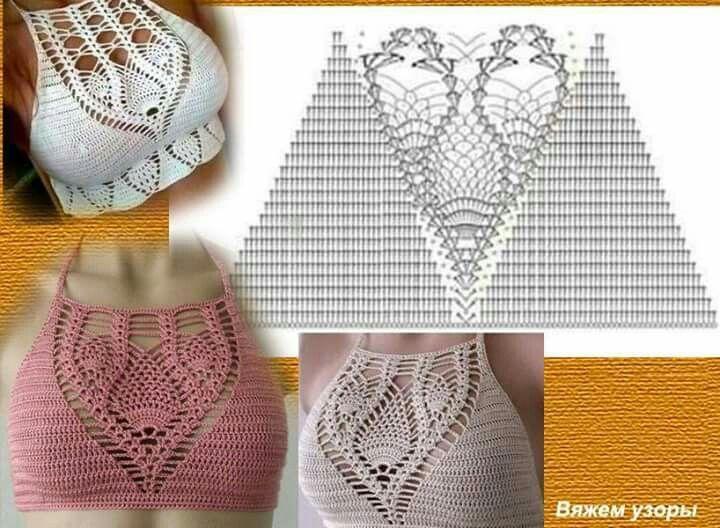 Vistoso Crochet Patrón De Soporte De La Aguja Friso - Ideas de ...
