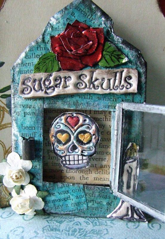 Sugar Skull shrine