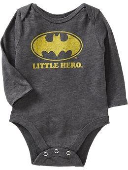 "DC Comics Batman™ ""Little Hero"" Bodysuits for Baby | Old Navy. I love this stuff!"