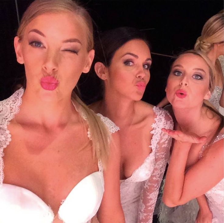 Who wouldn't love a little backstage fun at our #UltimateBridalEvent fashion parades - We also just wanted to thank the insanely talented team from Make-up Mode who made our models look even more beautiful with their hair and make-up