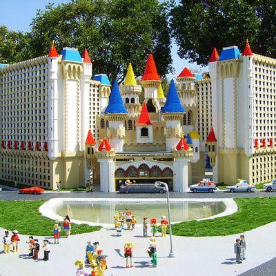 Miniland Las Vegas at Legoland California