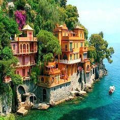 [It isn't Positano] Positano, Amalfi coast Italy...... OMG,I want to be here!!!!