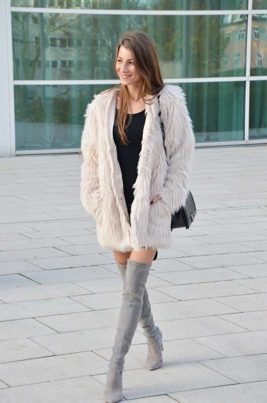 OUTFIT: FAMOUS FLUFFY JACKET