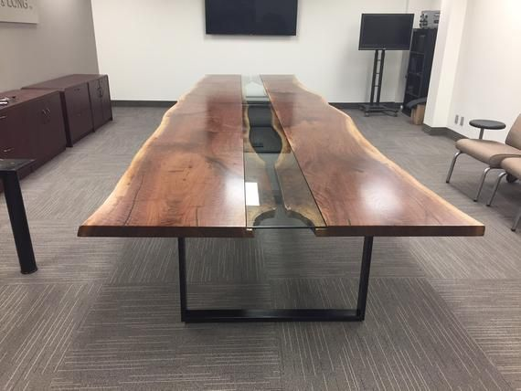 Live Edge Table Reversed Live Edge Boardroom Table Live Edge