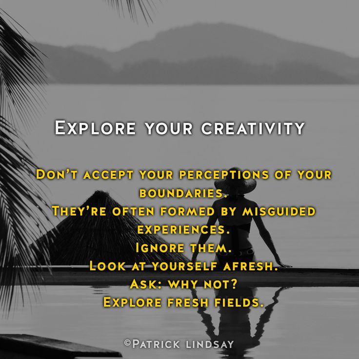 Explore your creativity #inspiration #highhopes #makethemostofyou  High Hopes: http://goo.gl/OMpfvh