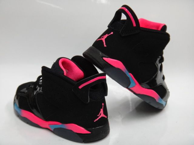 sandals size 6 toddler girl | Shoes, Sneakers, & Boots - AIR JORDAN 6 RETRO GIRLS TODDLER (BLACK ...