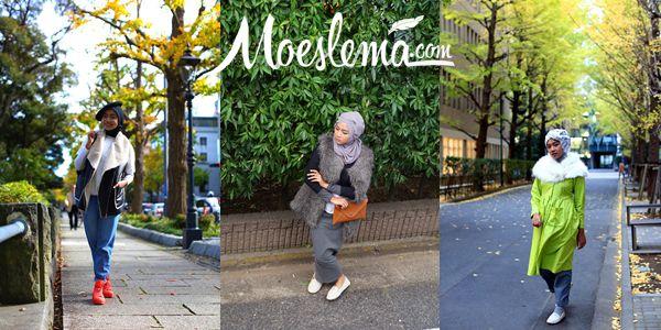 Japan Islamic Beauty Trip: OOTD, day 1 � 3