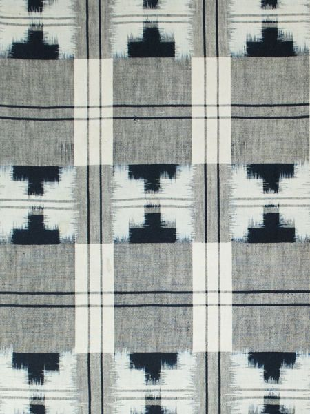 Asian Tribal Art - Double ikat futon cover, Japan