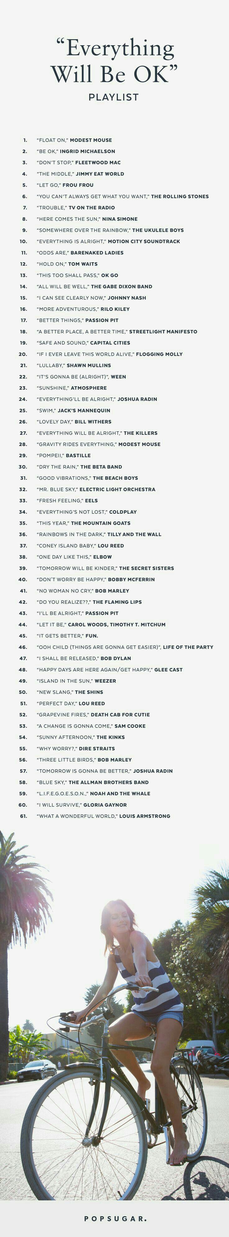Everything will be OK playlist