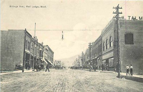 Image result for history of red lodge mt