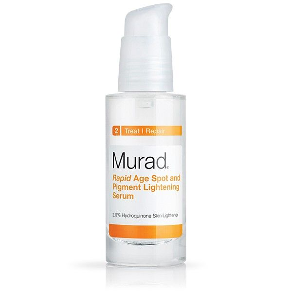 Murad Rapid Age Spot and Pigment Lightening Serum with hydroquinone fades dark spots & age spots on your skin safely & quickly. Read reviews & shop today!