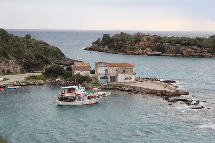 The old customs buildings of Kardamily - a small complex of picturesque buildings, located at the old port of Kardamily. #Greece #Messinia #discover_peloponnese http://www.discover-peloponnese.com/