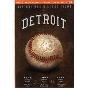 MLB Vintage World Series Films - Detroit Tigers 1945, 1968 & 1984...this would look great as a 'poster' for the room