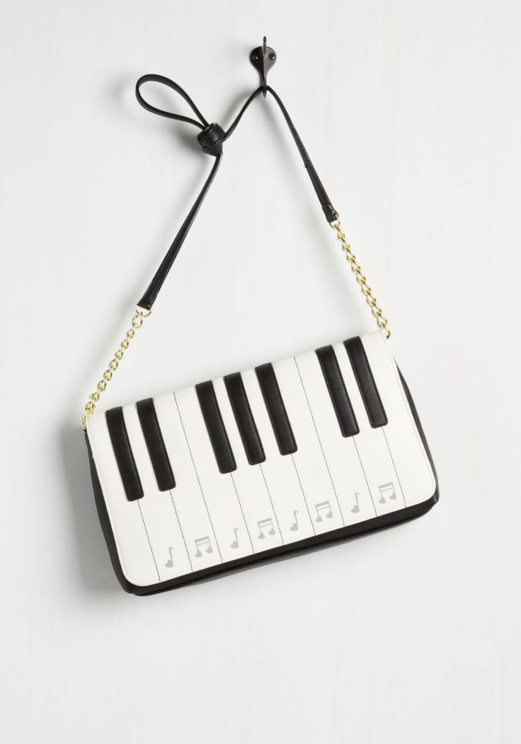 Octave Participant Bag. As soon as your radar picks up this quirky purse, you hop on the chance to get involved. #white #modcloth - pouch bag, black and brown leather bag, designer bags *sponsored https://www.pinterest.com/bags_bag/ https://www.pinterest.com/explore/bags/ https://www.pinterest.com/bags_bag/leather-messenger-bag/ http://www.neimanmarcus.com/Sale/Handbags/cat46520737/c.cat