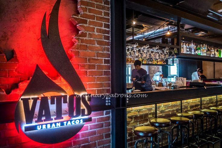 Vatos Urban Tacos Singapore - New KoMex Restaurant