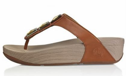 Fitflop Pietra Brown Women's Sandals £98.90  £51.22 Save: 48% off