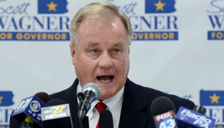 """Warm Bodies"" Cause Climate Change, Suggests Pa. Gov Hopeful  Scott Wagner, a Republican state senator from York County and owner of trash hauling firm Penn Waste, speaks to reporters at a Penn Waste facility after formally announcing that he will run for Pennsylvania governor in 2018, Wednesday, Jan. 11, 2017 in Manchester, Pa. (AP Photo/Marc Levy)"