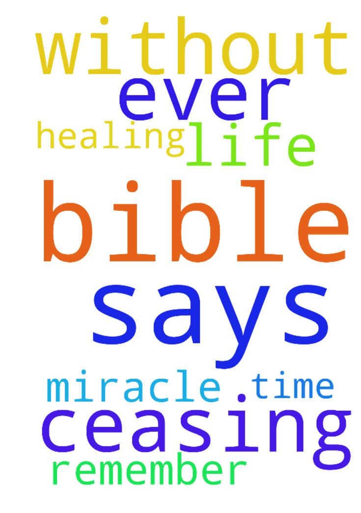 As the bible says pray without ceasing when ever you - As the bible says pray without ceasing when ever you get time to pray remember me in your prayer to let God do a miracle healing in my life Posted at: https://prayerrequest.com/t/NSM #pray #prayer #request #prayerrequest