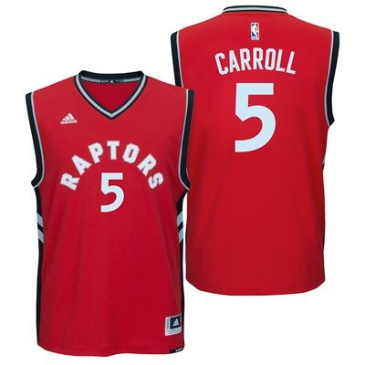 Toronto Raptors Road Replica Jersey - DeMarre Carroll - Mens: Toronto Raptors Road Replica Jersey - DeMarre… #nbastore #nbastoreeurope