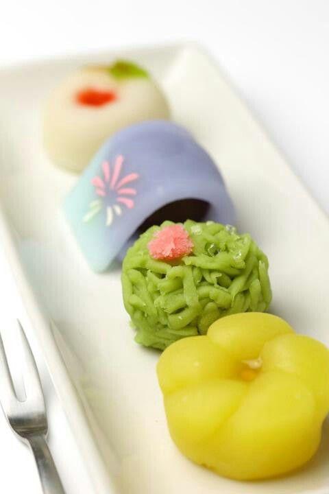 Wagashi, japan traditional sweets