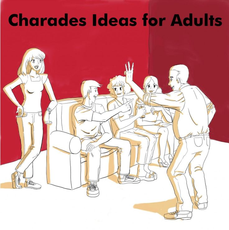 Need a list of charades words for an adult-themed game? There are a ton of old classic movies and TV shows here for you to use.