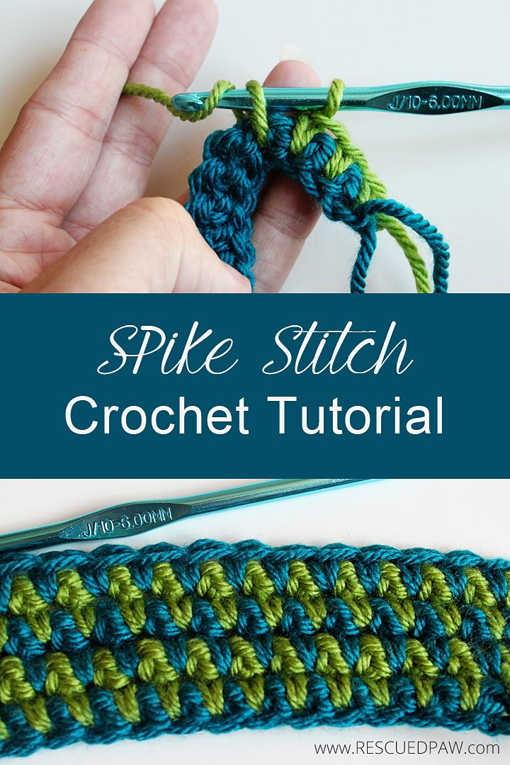 Ravelry: Spike Stitch Tutorial by Krista Cagle