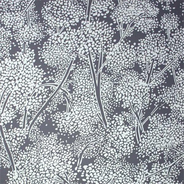 Papier peint noir et blanc de Nina Campbell Woodsford