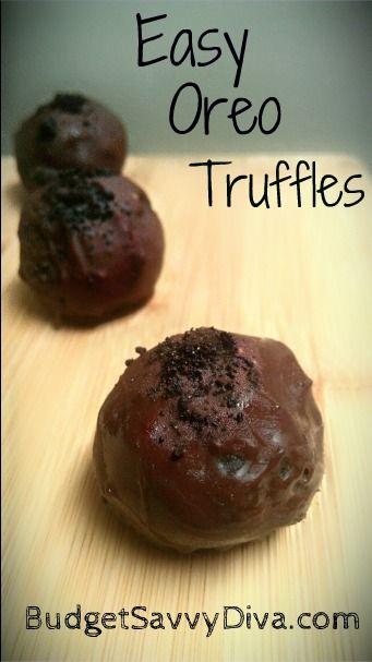 ... , Oreo Truffles Recipes, Easy Oreo, Budget Savvy, Oreo Cream Cheeses