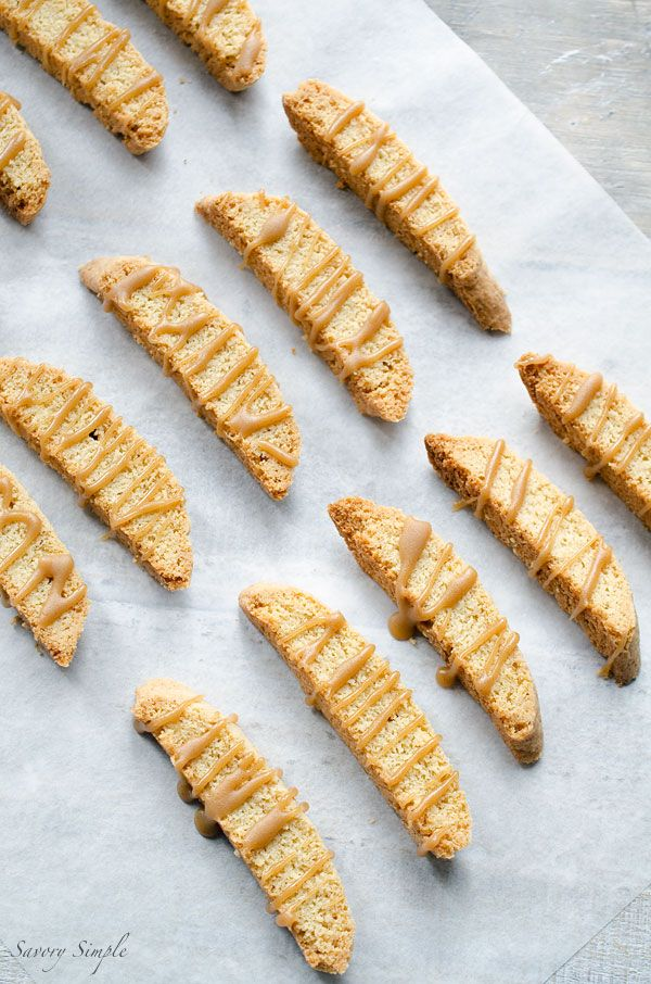 Get this amazing, easy to follow Brown Butter Caramel Biscotti recipe from Savory Simple!