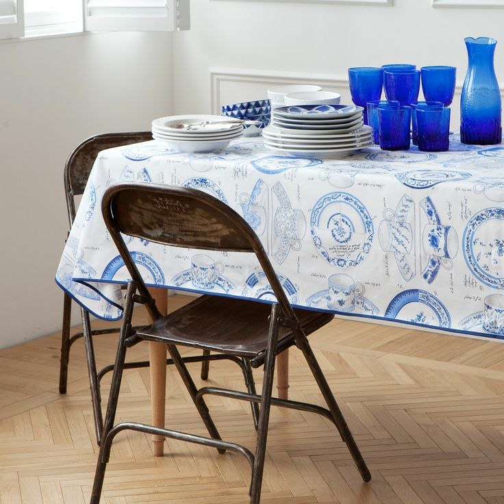 17 best images about passover table blue inspiration on for Table zara home