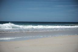 "Atlantic Ocean Coast with Sandy Beach Art Photography. From ""Caribbean"" Photo Art Prints."