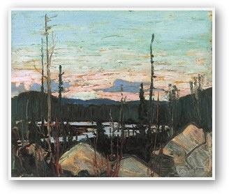 Tom Thomson  Burnt Area Ragged Rocks