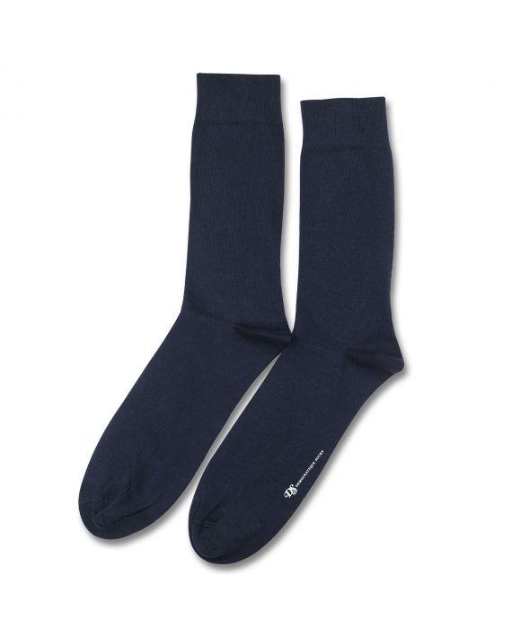 12 pairs Democratique Socks Originals Solid Navy Blue
