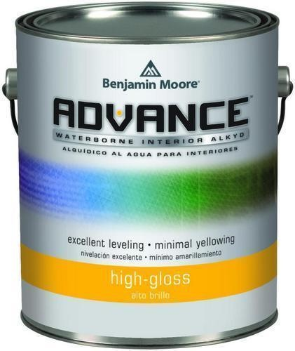 Benjamin Moore 794 Advance Waterborne Alkyd Interior High Gloss Finish Paint Gallon