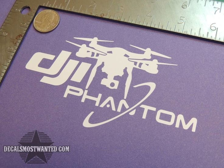 DJI Phantom vision Decal Sticker UAV Quad FPV Die cut vinyl  #Decalsmostwanted