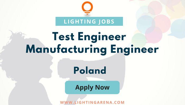 Test Engineer – Manufacturing Engineer - Poland https://www.lightingarena.com/jobs/test-engineer-manufacturing-engineer/?utm_content=buffer0a7be&utm_medium=social&utm_source=pinterest.com&utm_campaign=buffer #jobsearch #hiring #jobopening #jobs #Jobseekers