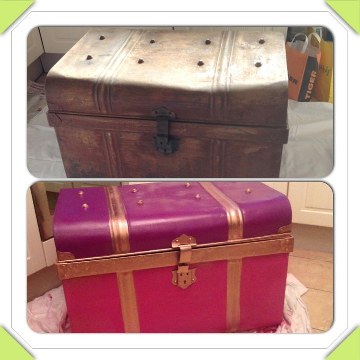 Junk trunk to treasure chest :)