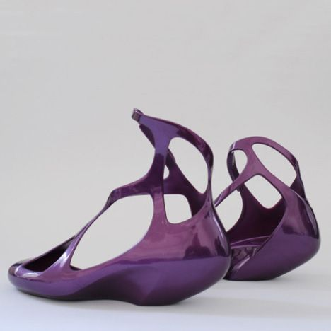 Zaha Hadid + other architects designing shoes