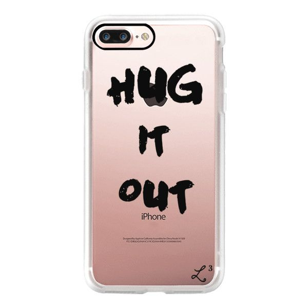 Entourage - Ari Gold Hug It Out - iPhone 7 Case, iPhone 7 Plus Case,... ($50) ❤ liked on Polyvore featuring accessories, tech accessories, iphone case, apple iphone case, gold iphone case, iphone cases and iphone cover case