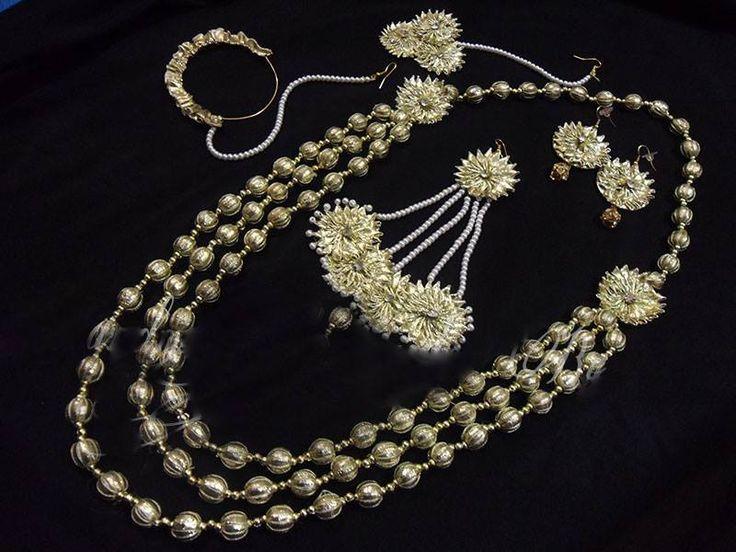 Mehndi Flower Jewelry Houston : Best images about bridal flower jewellery on pinterest