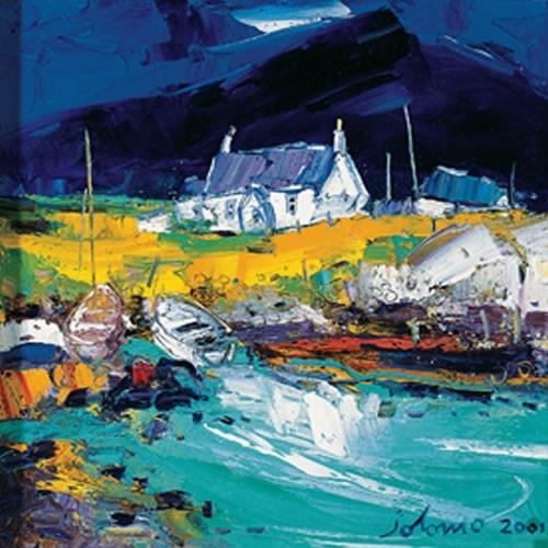 Art Prints Gallery - Boats, Portuairk Ardnamurchan, £30.00 (http://www.artprintsgallery.co.uk/John-Lowrie-Morrison/Boats-Portuairk-Ardnamurchan.html)