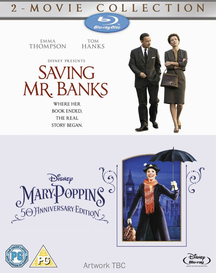 Saving Mr Banks & Mary Poppins [Blu-Ray][Region Free]