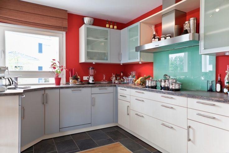 peinture cuisine et combinaisons de couleurs en 57 id es fascinantes 8 home decor dream home. Black Bedroom Furniture Sets. Home Design Ideas