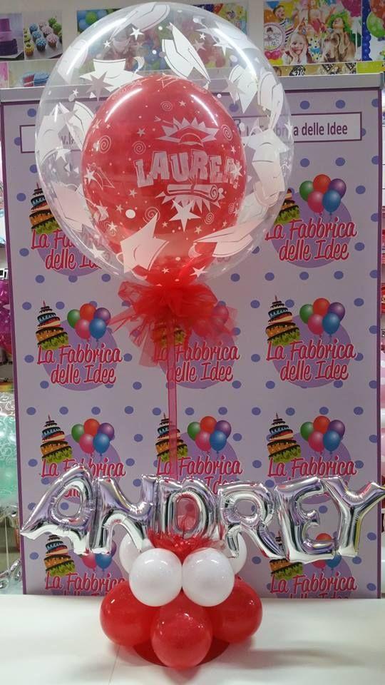 Festa Di Laurea Composizioni Di Palloncini Decorazioni