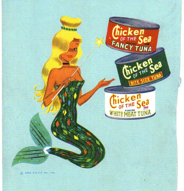 Chicken of the Sea Mermaid. You know Charlie wanted to hit that.