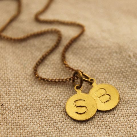 Special Initials Necklace